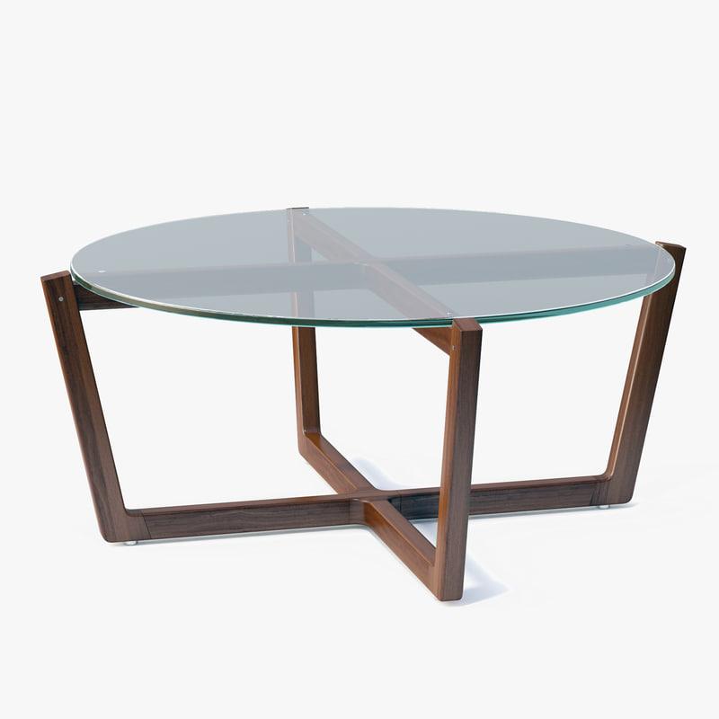 Max Dwr Atlas Coffee Table