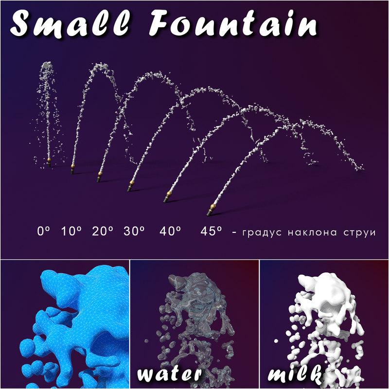 Small Fountain splash