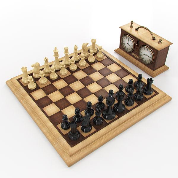 Chess 3D Models