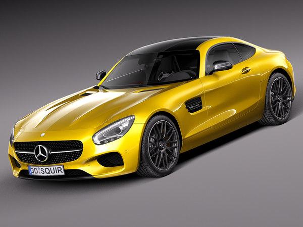 Mercedes-Benz AMG GT S 2016 3D Models
