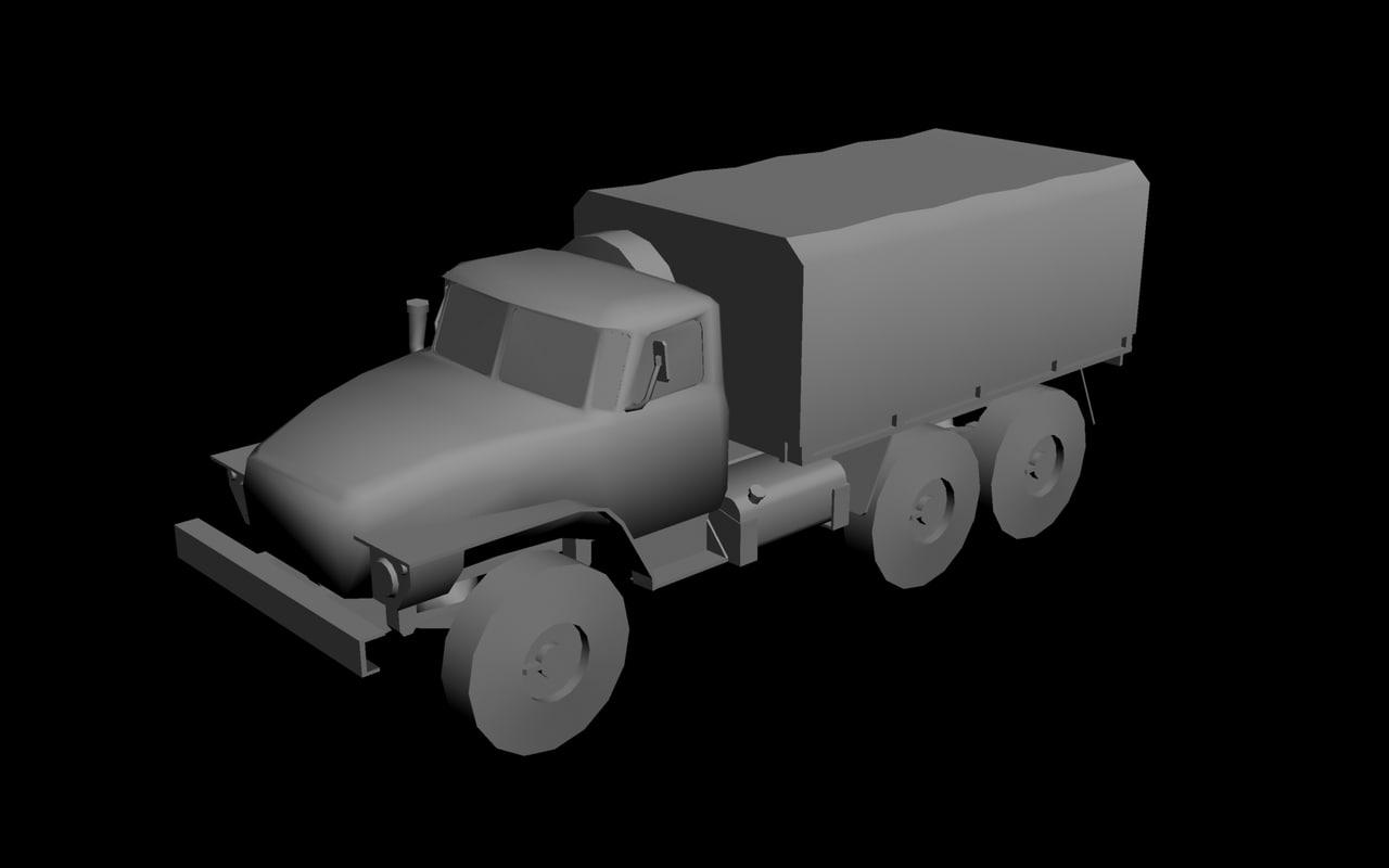 Ural truck(1)