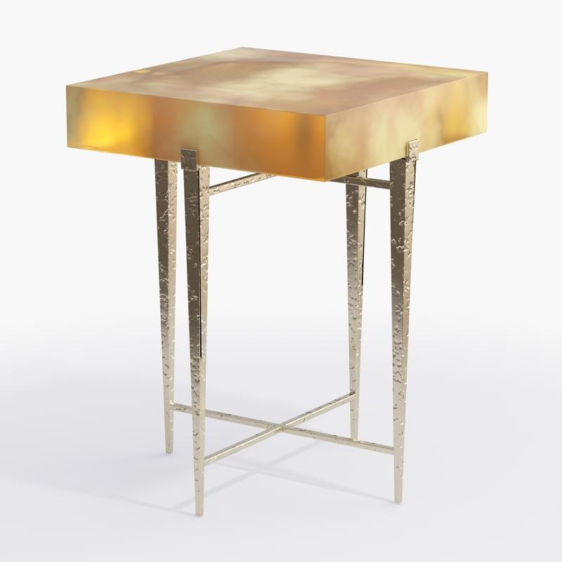 3d ironies lit table model
