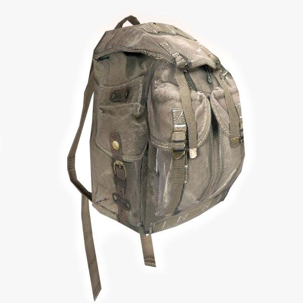 Hiking Backpack 3D Models