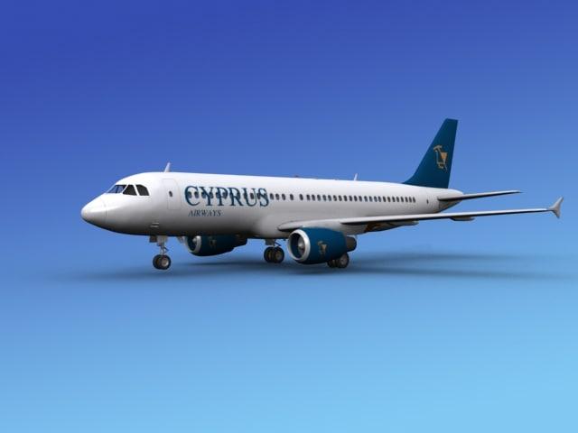 Airbus A320 Cyprus Airways