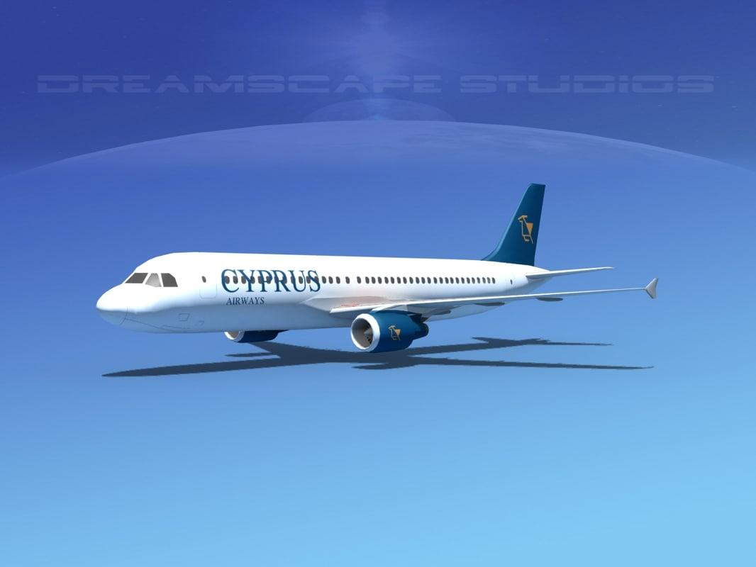 Airbus A320 LP Cyprus Airways