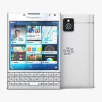 blackberry passport 3D models