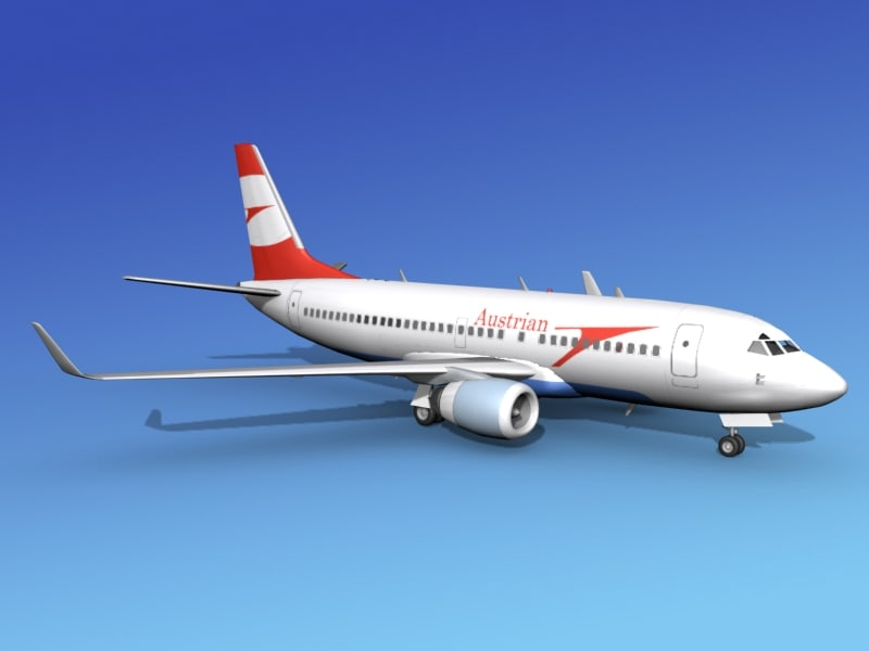 boeing 737 700 737 737 700er 3d max