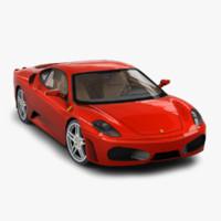 ferrari f430 berlinetta 3D models