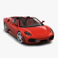 ferrari f430 spyder 3D models
