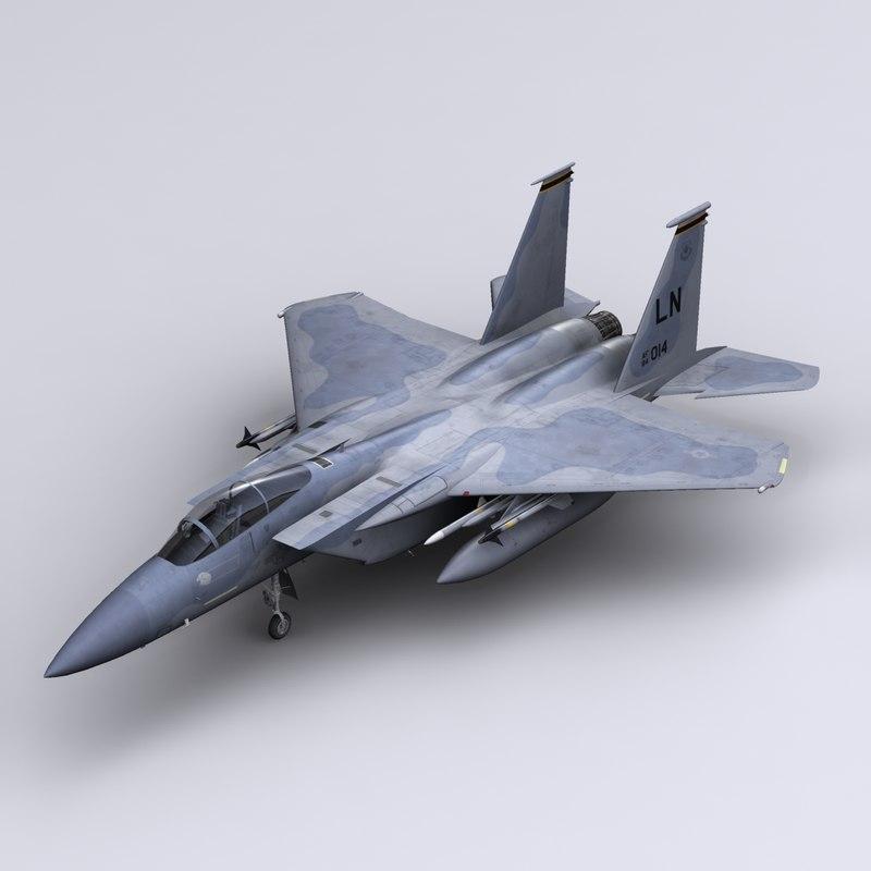 F-15C Eagle 493rd FS RAF Lakenheath