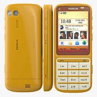 Nokia c3-01 3D models