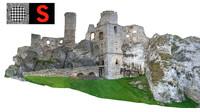 Castle Ruin 3D models