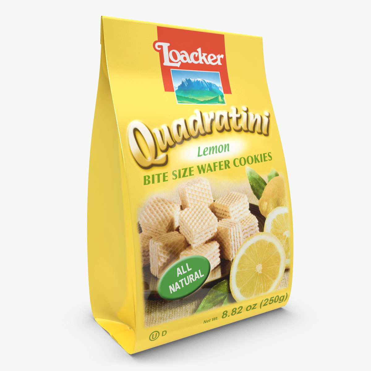 Loacker Quadratini Lemon Wafers