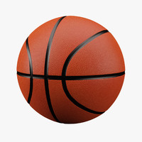 basketball ball 3D models