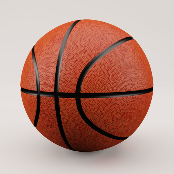 Basketball Classic Style 3D Models