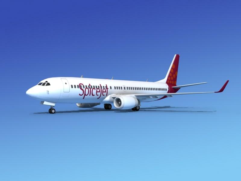 Boeing 737-800ER Spice Jet0001.jpg