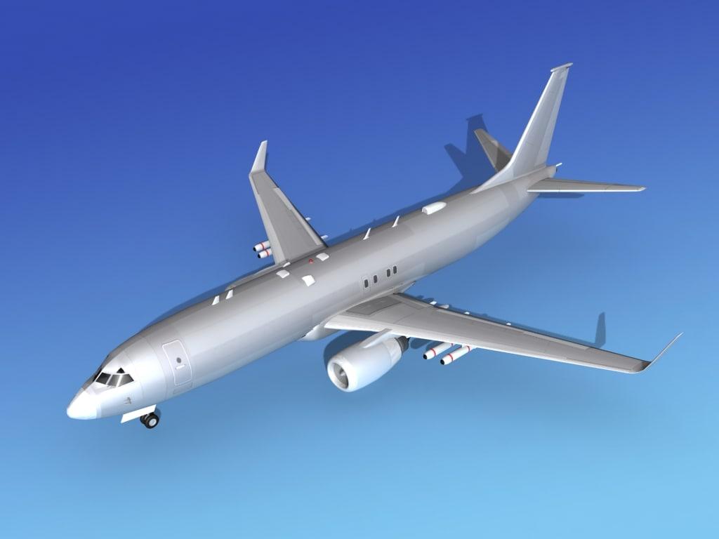 Boeing P-8 Posiedon Bare Metal