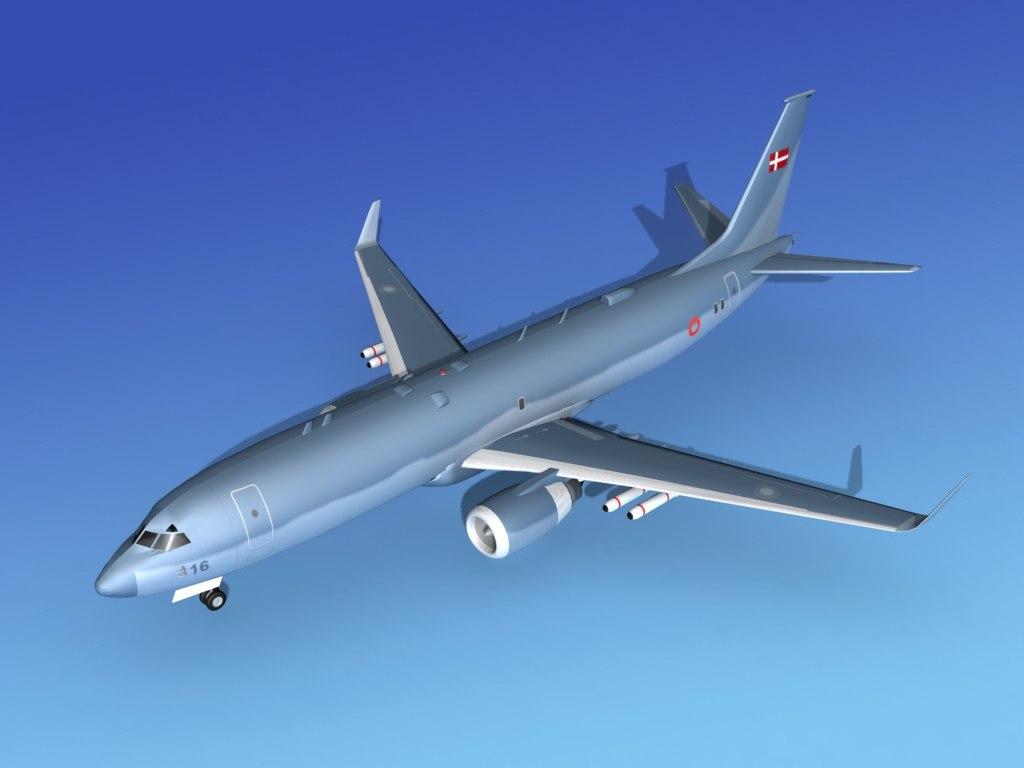 Boeing P-8 Posiedon Denmark