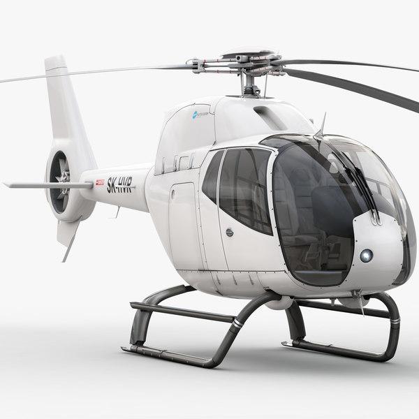 Eurocopter EC 120B Colibri 3D Models
