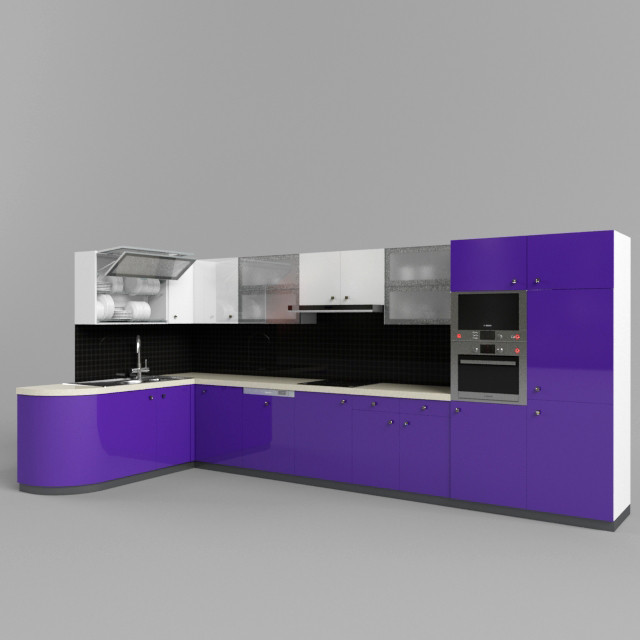 3ds max modern kitchen set for Kitchen set 3ds max