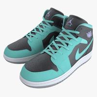 Nike Air Jordans 3D models