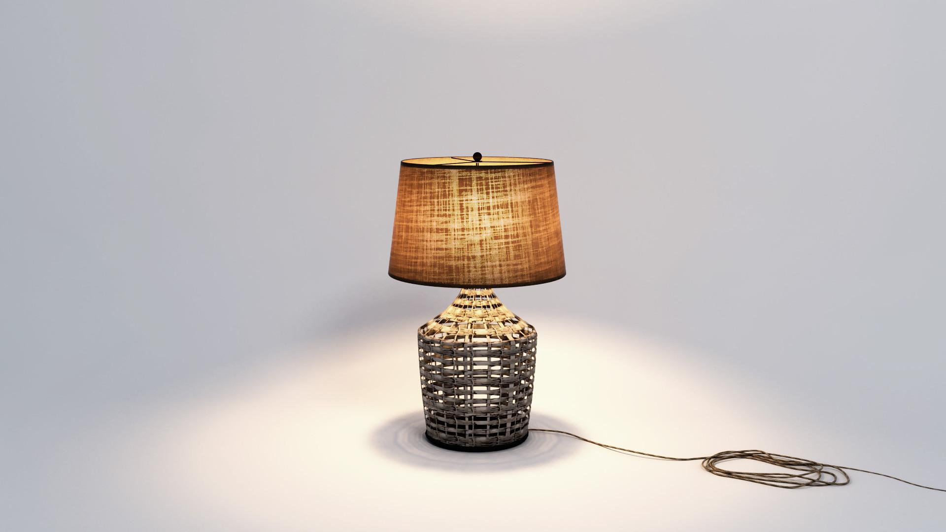 swamp table lamp