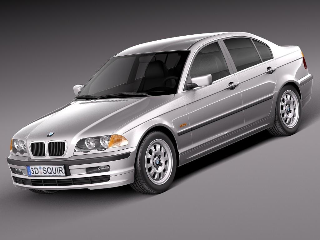 BMW 3-series e46 1998-2001 sedan