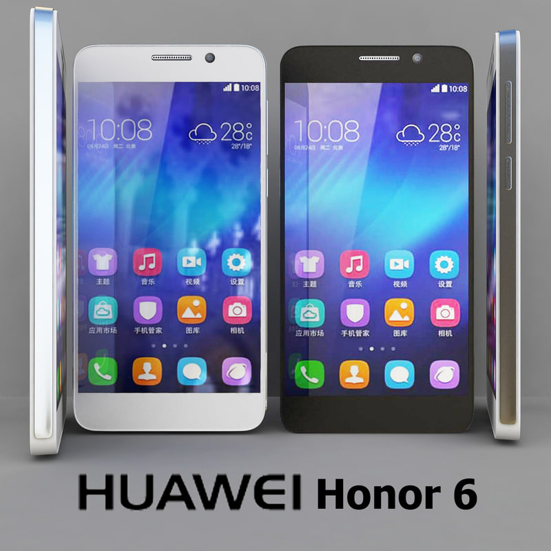 Huawei Honor 6 Black and White