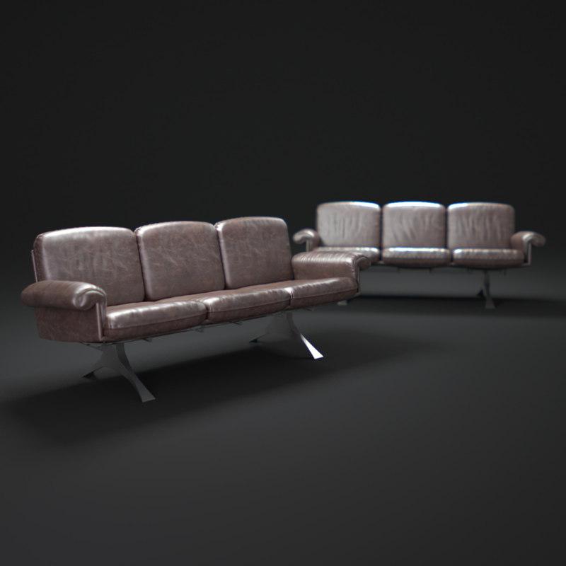 De Sede Desede Lounge Sofa DS 31