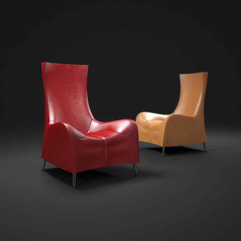 de sede 264 sessel 3d max. Black Bedroom Furniture Sets. Home Design Ideas