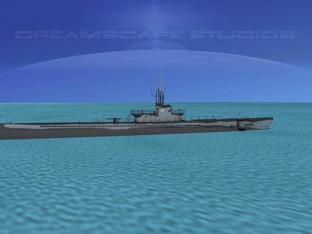 USS  Balao Class  SS290 USS Cisco VHP0020.jpg