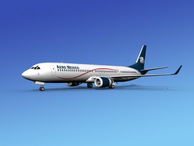 Boeing 737-900ER Aero Mexico0001.jpg