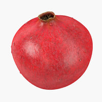 Pomegranate 3D models