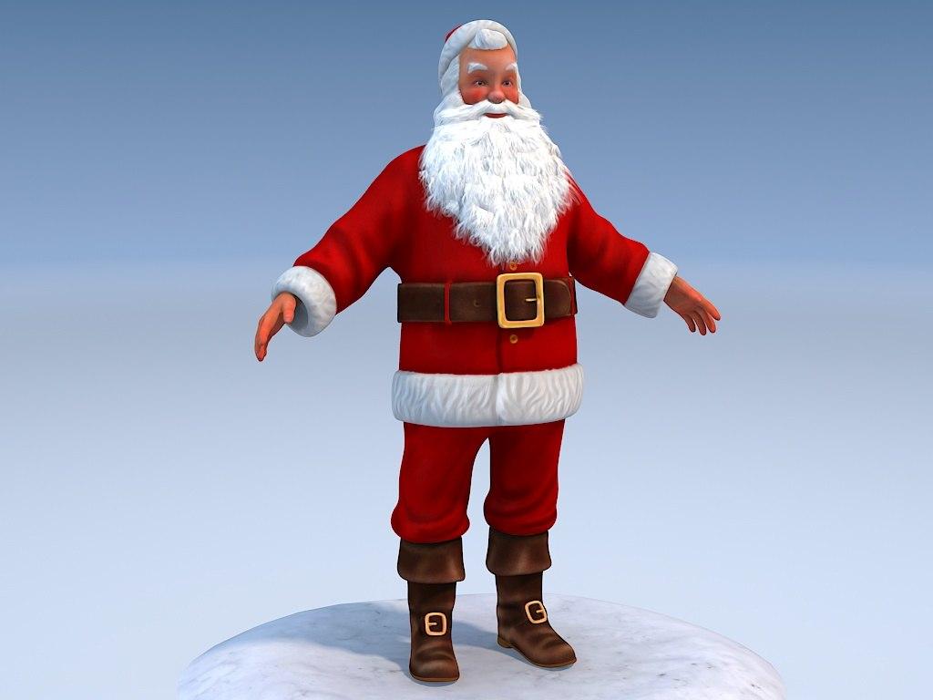 Santa Claus Rigged