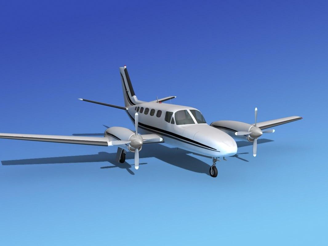 Cessna 441 Conquest II V03