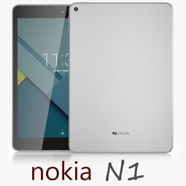 Nokia N1 Tablet Silver
