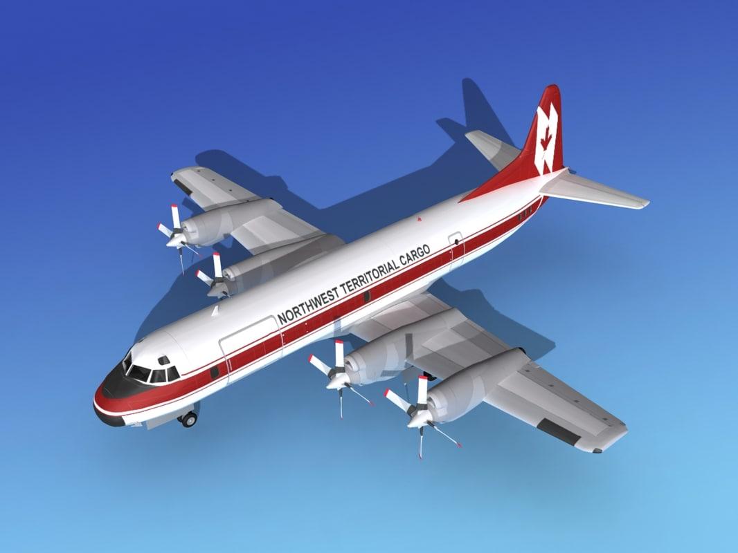 Lockheed L-188 Electra Northwest Territorial Cargo