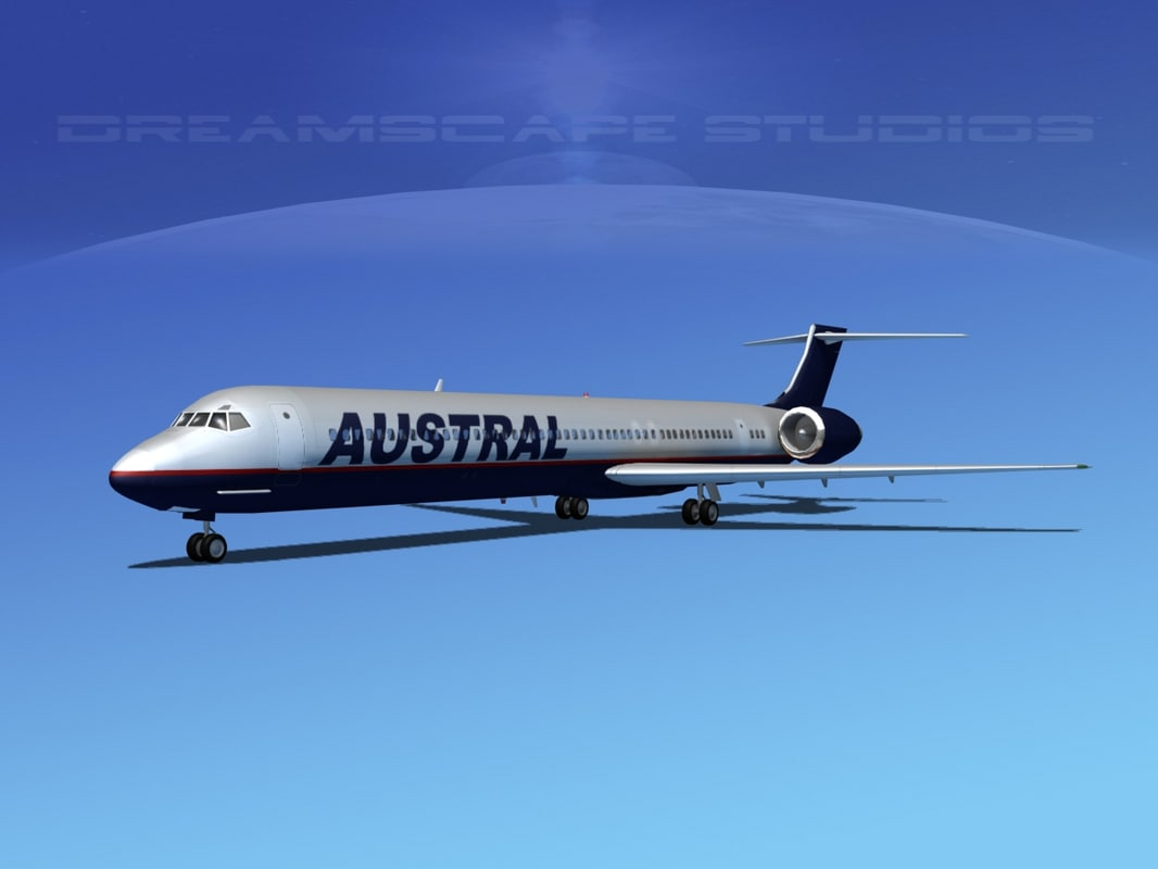 McDonnell Douglas MD-80 Austral 2