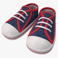 children's shoe 3D models