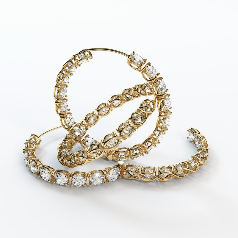 hoop ear ring