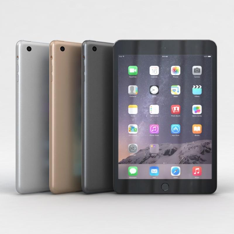 Apple iPad mini 3 All Color