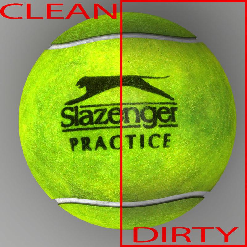Tennis ball Slazenger