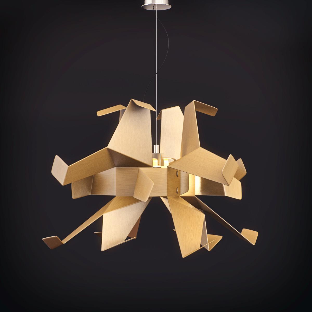 Pallucco Glow mini chandelier