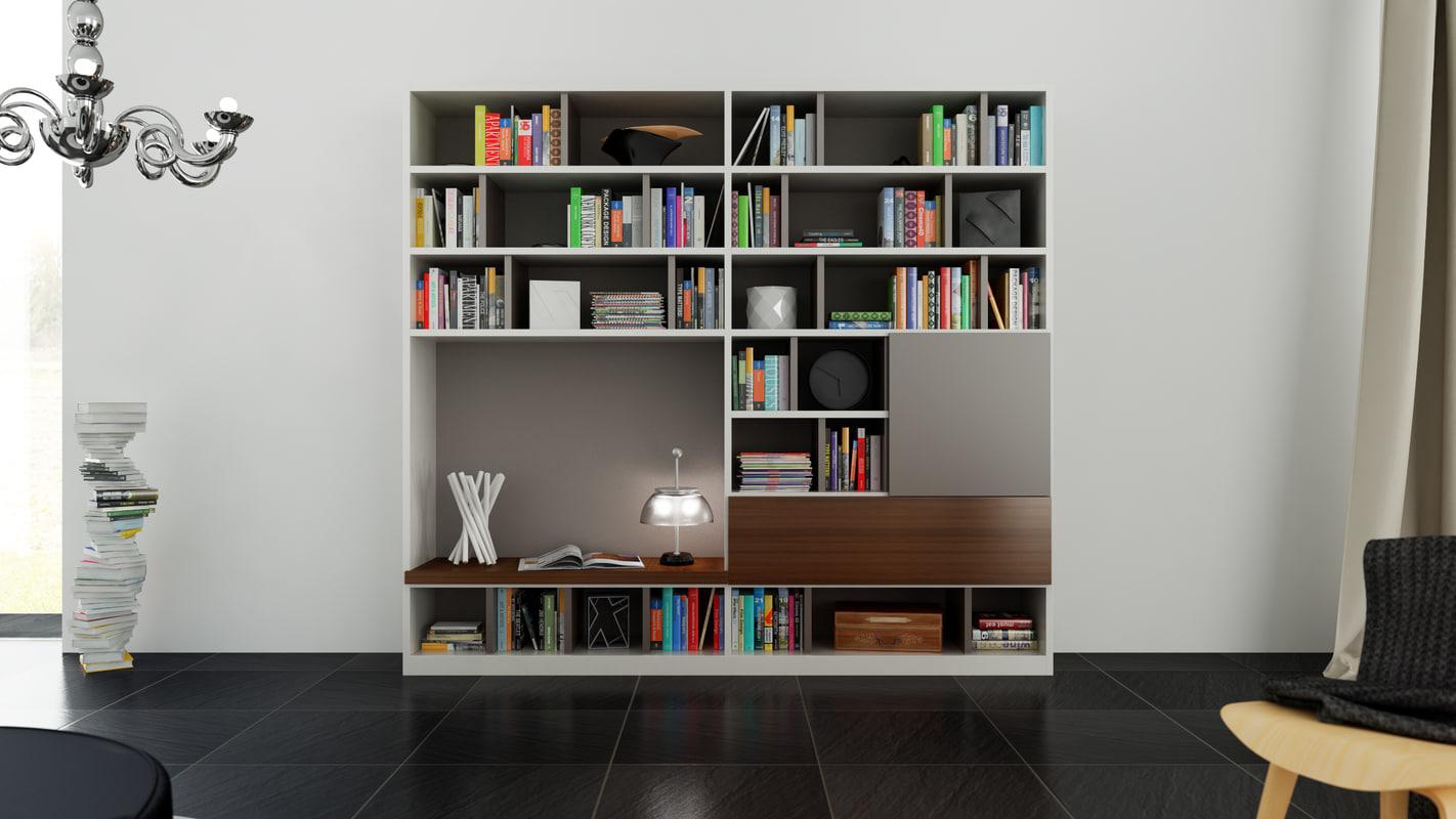 3d molteni 505 1. Black Bedroom Furniture Sets. Home Design Ideas