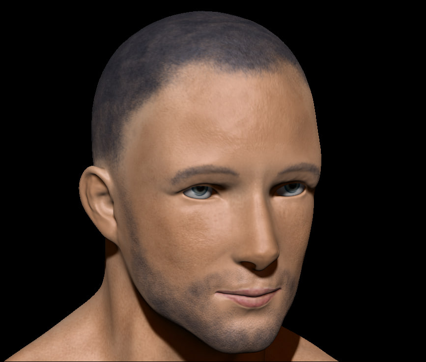 Male Low poly ready