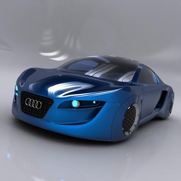 Audi RSQ Concept 3D Models