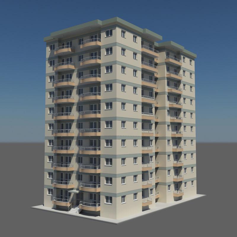 floor building 3d x