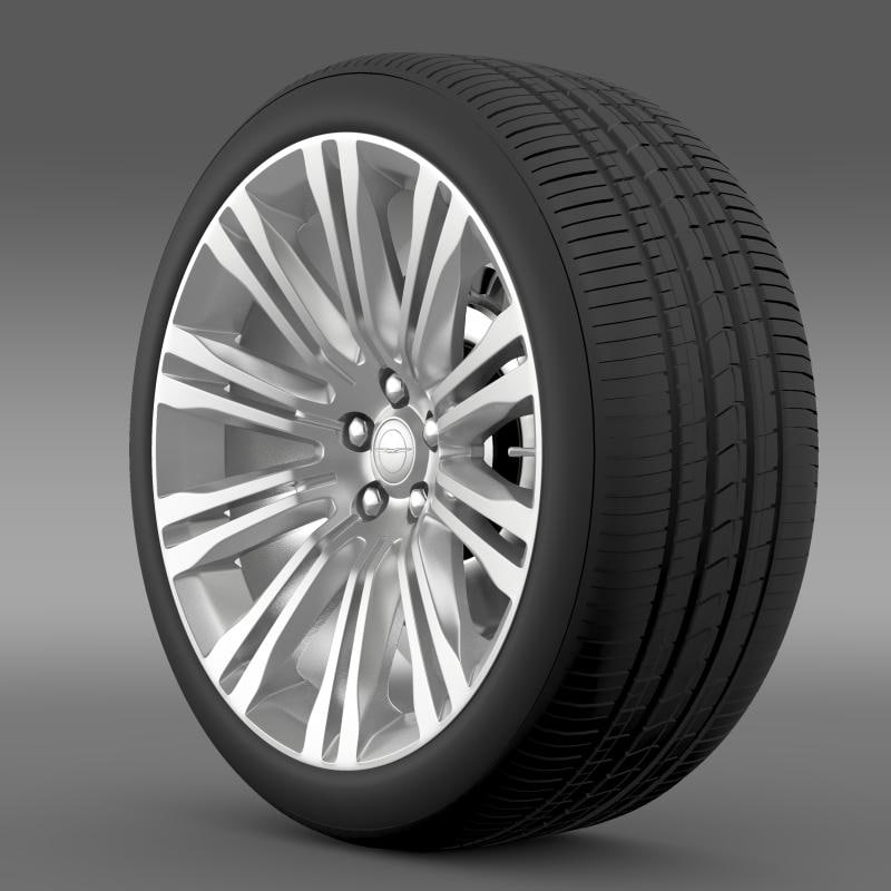 Chrysler 300C 2012 wheel