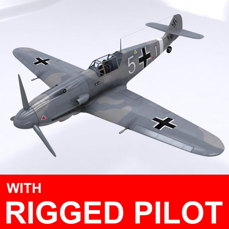 Messerschmitt BF-109 F1