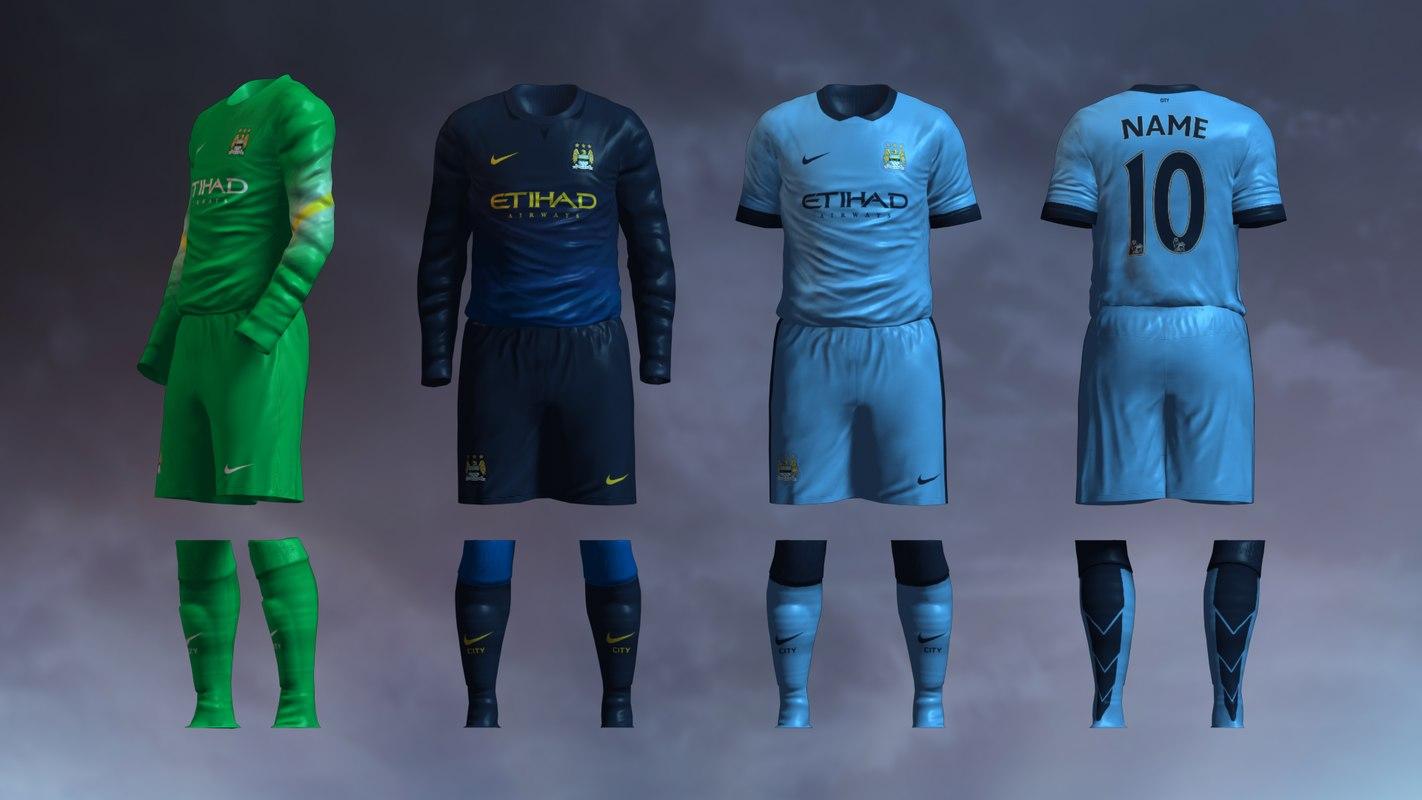 Manchester City 2014/2015 Jerseys